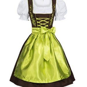Ocktoberfest Dirndl 3-piece costume dress